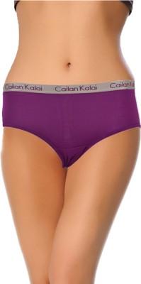 Cailan Kalai Women's Hipster Purple Panty
