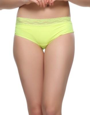 Clovia Women's Hipster Green Panty