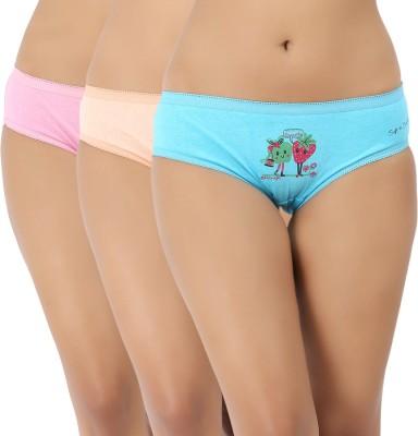 Vaishna Women's Brief Multicolor Panty