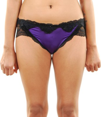 Felicity Design Women's Bikini Purple Panty
