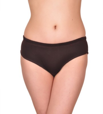 Sellsy Women's Hipster Brown Panty