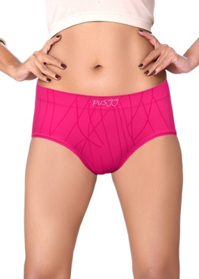 Pusyy Regular-Silkyline-Margenta-Xl Women's Bikini Pink Panty
