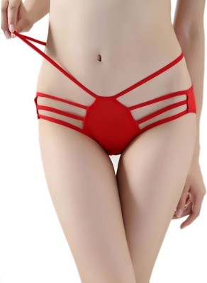 TIMI Women,s Hipster Red Panty