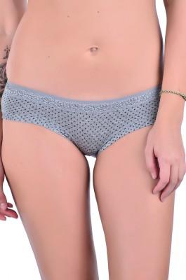 Naughtee Women's Hipster, Brief Grey Panty
