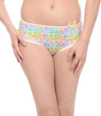 Ploomz Fashion Women's Hipster Beige Panty