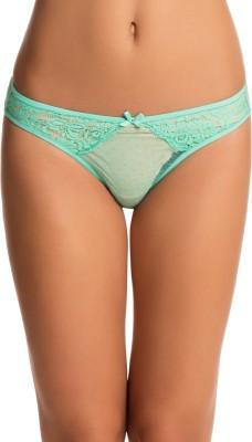 PrettySecrets Women's Bikini Green Panty