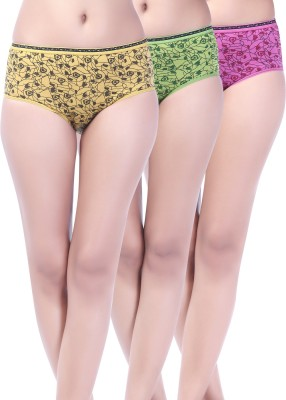 Softfeel SF 03 Women's Hipster Multicolor Panty