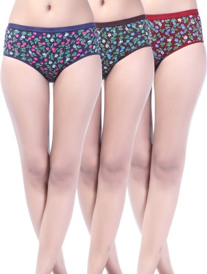 Softfeel SF 18 Women's Hipster Multicolor Panty