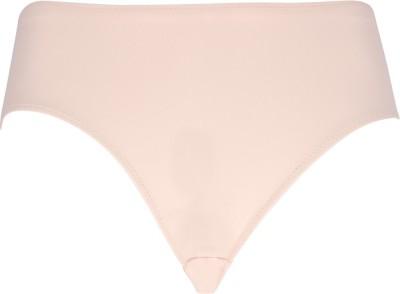 Peches Polyamide Skin Plain Seamless Women's Bikini Pink Panty