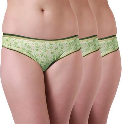 Tweens Women's Brief Green Panty