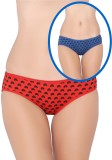 La Zoya Women's Bikini Multicolor Panty ...