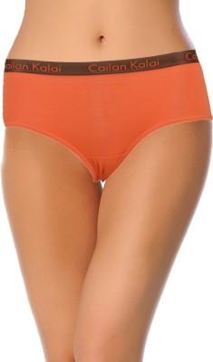 Cailan Kalai Women's Hipster Orange Panty