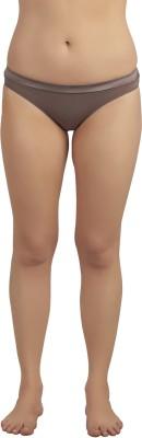 SOIE Classic Women's Brief Brown Panty
