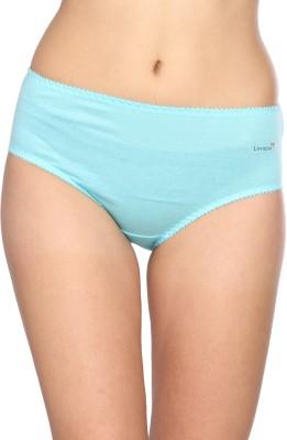 Lovable Pearlz_blue Women's Brief Blue Panty