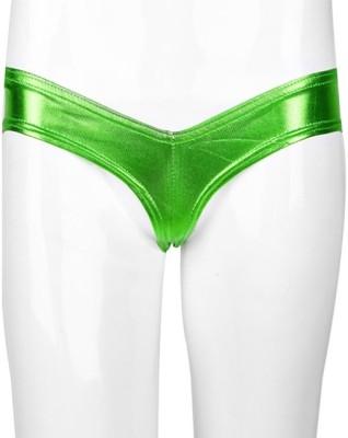 YRD Metallic Women's Brief Green Panty