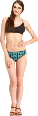 Styllia Women's Thong Green Panty