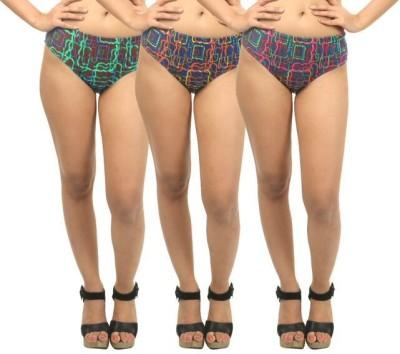 Body Liv Women's Brief Multicolor Panty
