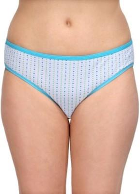 KRG ENTERPRISES Women's Bikini White Panty