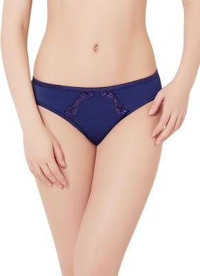 Amante Women's Bikini Dark Blue Panty(Pack of 1) at flipkart