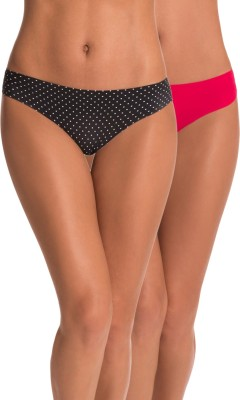 PrettySecrets Women's Hipster Multicolor Panty(Pack of 2) at flipkart