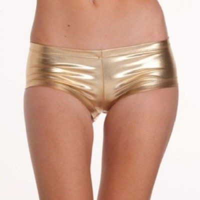 Our Rituals GOLBSM2 Women's Boy Short Gold Panty