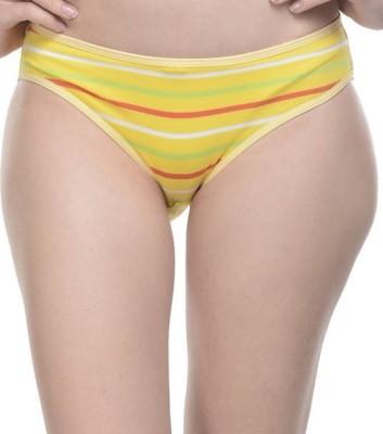 Ploomz Fashion Women's Hipster Yellow Panty
