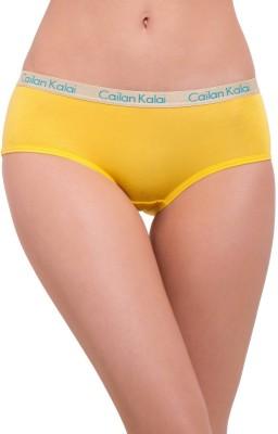 Cailan Kalai Women's Bikini Yellow Panty
