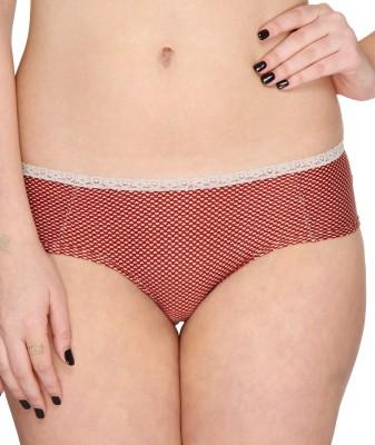 Vivity KFP-SET-14 Women's Brief Red Panty(Pack of 1) at flipkart
