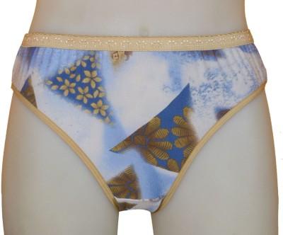 Calibra CALITY-2 LY Women's Bikini Beige, Blue Panty