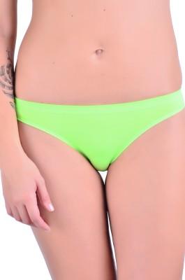 Naughtee Women's Bikini Green Panty