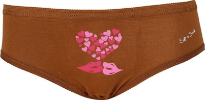 Soft&Smooth Women's Brief Brown Panty