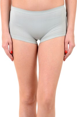 Mynte Women's Boy Short Grey Panty