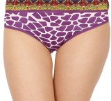 Madaam Women's Brief Purple Panty (Pack ...