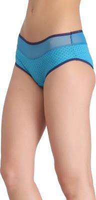Clovia Women's Hipster Blue Panty(Pack of 1) at flipkart