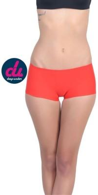 Deep Under Women's Boy Short Red Panty