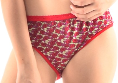 Inner Care 6025 Red Women's Brief Red Panty