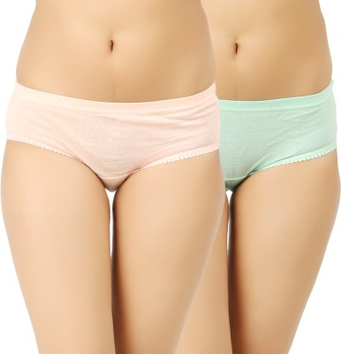 Vaishma Women's Brief Orange, Green Panty