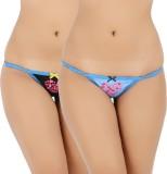 Vaishna Women's Bikini Blue, Black Panty...