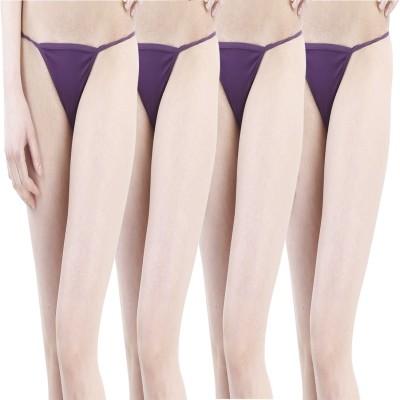 JKFs Women's G-string Purple Panty