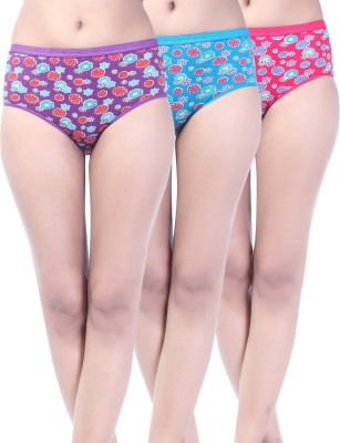 Softfeel Sf 10 Women's Hipster Multicolor Panty