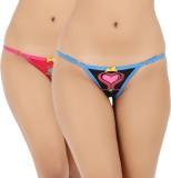 Vaishna Women's Bikini Pink, Black Panty...