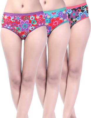 Softfeel Sf 12 Women's Hipster Multicolor Panty