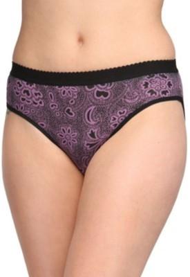 KRG ENTERPRISES Women's Bikini Purple Panty