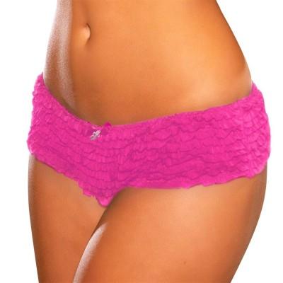 Hustler KPHP6 Women's Thong Pink Panty