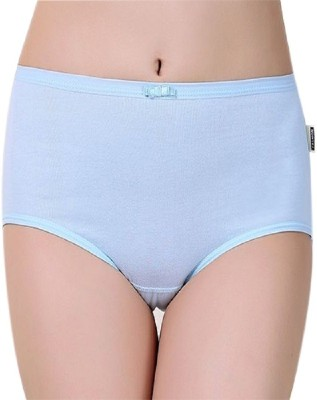 Queens Collections Women's Bikini Light Blue Panty