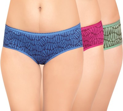 Curves n Shapes CNS123 Women's Hipster Multicolor Panty