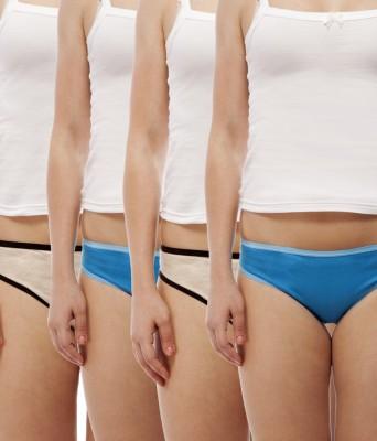 Jepp ModernGirl Women's Brief Beige, Blue Panty