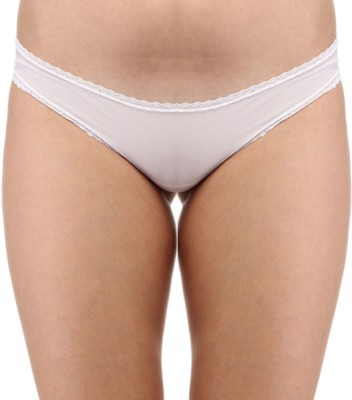 Secret Wish Lacy White Women's Hipster White Panty