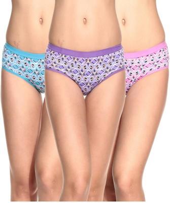 Ultrafit UL-P3001-1-2-3 Women's Brief Multicolor Panty