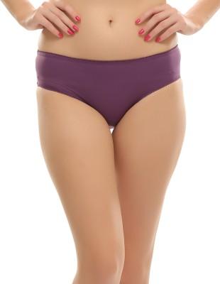 Clovia Women's Hipster Purple Panty(Pack of 1) at flipkart